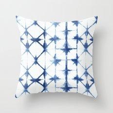 Shibori Thirteen Throw Pillow
