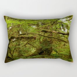 The Opulence Of The Rainforest Rectangular Pillow