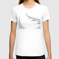 airplane T-shirts featuring Airplane by ONEDAY+GRAPHIC