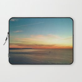 Pacific Ocean Sunset off the Coast of California Laptop Sleeve