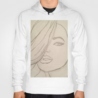 jojo Hoodies featuring JoJo by Art By JuJu