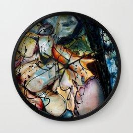 Lauren Nemchik - Rocks Wall Clock