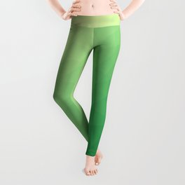 Green flakes Leggings