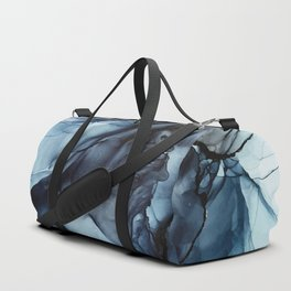 Blush and Darkness Abstract Paintings Duffle Bag
