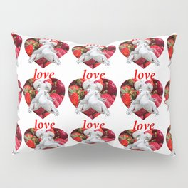 Love and Dove Pillow Sham
