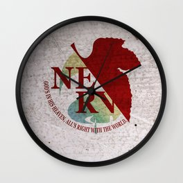Evangelion Wall Clock