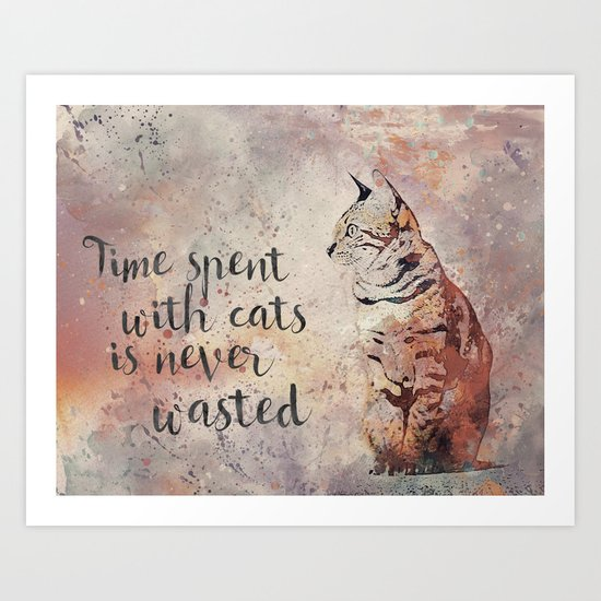Time spent with cats is never wastet by lebensart