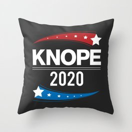 KNOPE FOR PRESIDENT - 2020 Throw Pillow