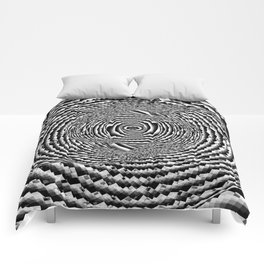 Abstract Spiral Galaxy Comforters