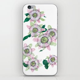 Passion flower iPhone Skin