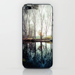 A bend in the river iPhone Skin