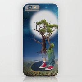 Growing up-Fantasy-Surrealism iPhone Case