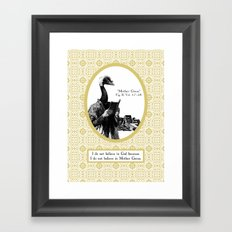 The Mother of All Fairytales Framed Art Print