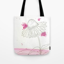 Echinacea Magic Tote Bag