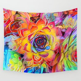 Succulent Madness Wall Tapestry