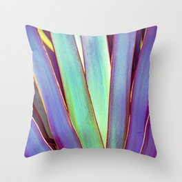 Fiesta Palm Throw Pillow