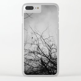 Branches and Bird Clear iPhone Case