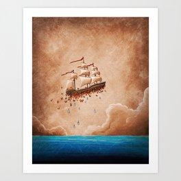 Fantastic Voyage Art Print