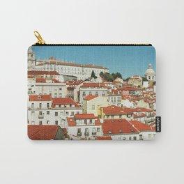 Lisbon view, Portugal Analog 6x6 Kodal Ektar 100 (RR 166) Carry-All Pouch
