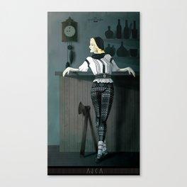 The Hatchet League  - Anca Canvas Print