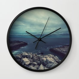 Forboding Skies Wall Clock