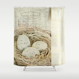 In the Nest Shower Curtain