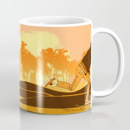 Kick Push.. Coast Coffee Mug