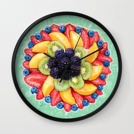Fruit cake Wall Clock