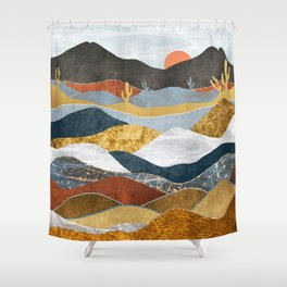 Desert Cold Shower Curtain