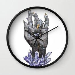 Occult Eye Wall Clock
