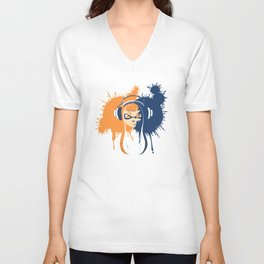 Splatoon: Squid Girl Splash Jam Unisex V-Neck