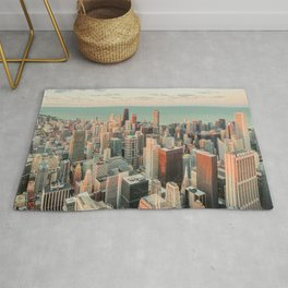 CHICAGO SKYSCRAPERS Rug