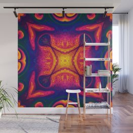Psychedelic Wall Mural