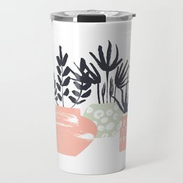 Floral pattern Travel Mug