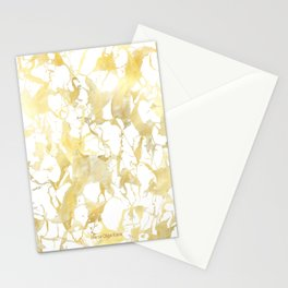 Marble gold Stationery Cards