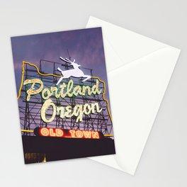 Portland Stag Stationery Cards