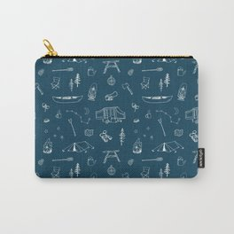 Simple Camping blue Tasche