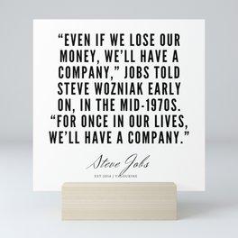 23     | Steve Jobs Quotes | 190720 Mini Art Print