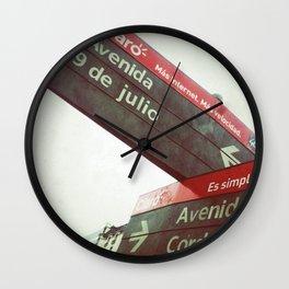 9 de Julio Wall Clock