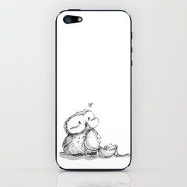 GND - Pervy fluffy owl iPhone Skin