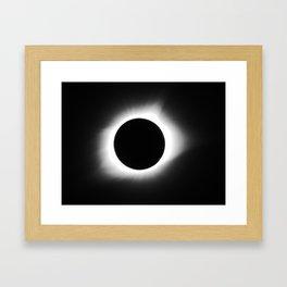 totality 2017 Framed Art Print