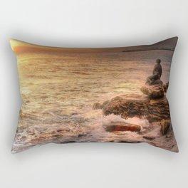 Folkestone At Sunrise Rectangular Pillow