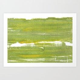 Moss green Art Print
