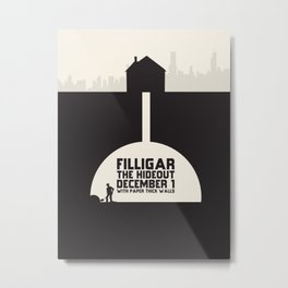 Filligar Hideout Chicago Metal Print