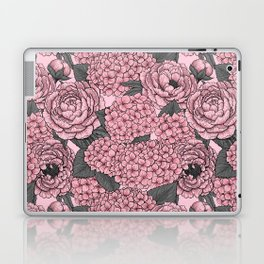 Floral bouquet in pink Laptop & iPad Skin