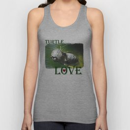 Turtle Love Unisex Tank Top