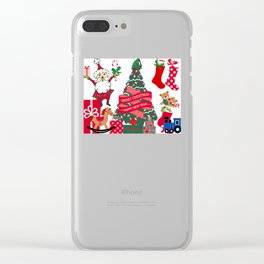 Merry Christmas & A happy new year! Clear iPhone Case
