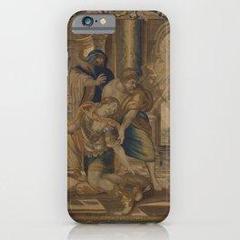 The Death of Achilles iPhone Case