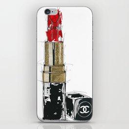 Lipstick Rouge iPhone Skin