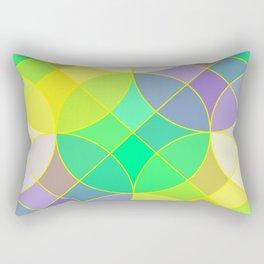 Elegant mosaic tile Rectangular Pillow